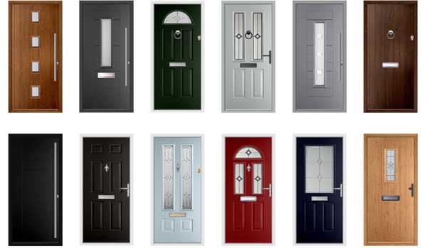 New Front Doors design